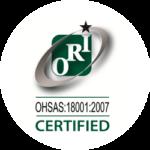 ORI - OHSAS: 18001:2007 CERTIFIED