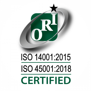 ISO14001, ISO45001 Certified