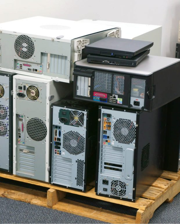Old Business Computers That Need To Be Recycled